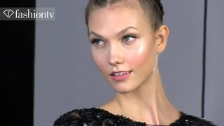 Elie Saab Couture: Karlie Kloss & Toni Garrn Backstage | Paris Fall/Winter 2012/13 | FashionTV