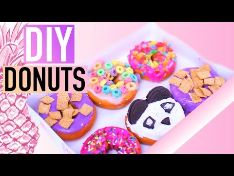 DIY California Donuts! Tumblr Inspired!