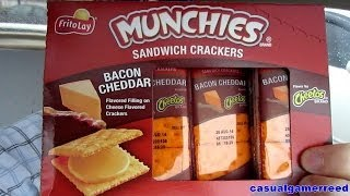 Reed Reviews - Munchies Bacon Cheddar On Cheese Crackers