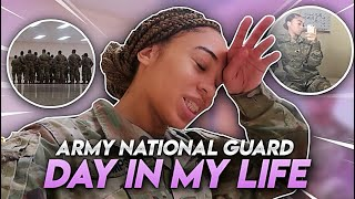 A NORMAL DAY IN MY LIFE IN THE ARMY NATIONAL GUARD