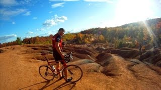 Cycling Forks of the Credit & Caledon Badlands