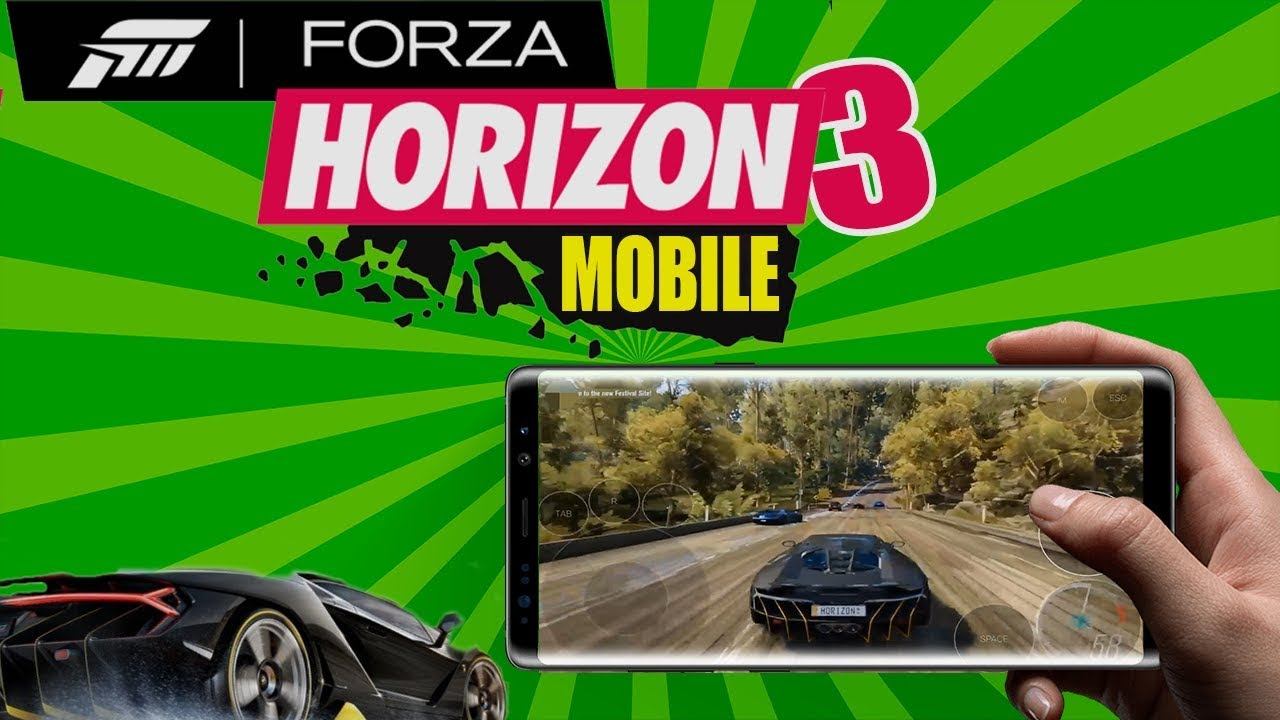Forza Horizon 3 Android and IOS ! (Gameplay)