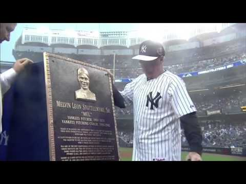 Mel Stottlemyre talks about his father's surprise plaque