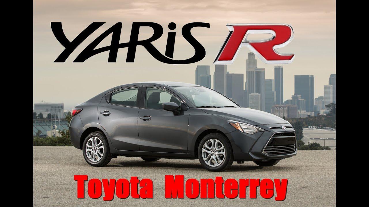 Nuevo Toyota Yaris R 2016 Mexico - YouTube