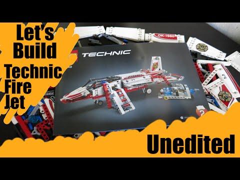 Technic Fire Jet Alternate Build - Uncut