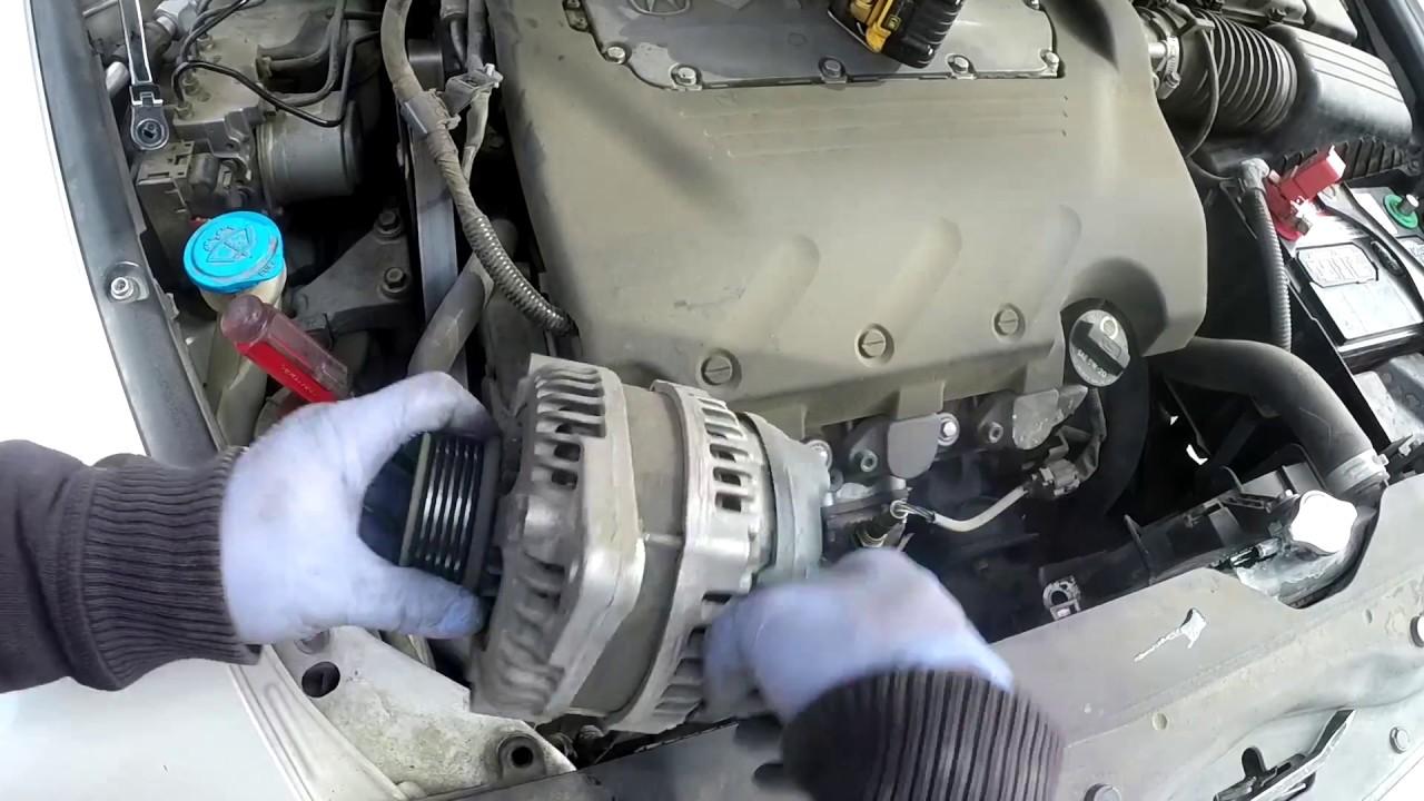 07 acura tl type s alternator removal youtube rh youtube com Acura TL Type S Specs 2008 Acura TL Specs