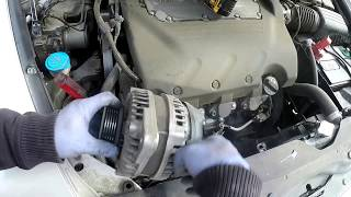 07 Acura TL type S alternator removal