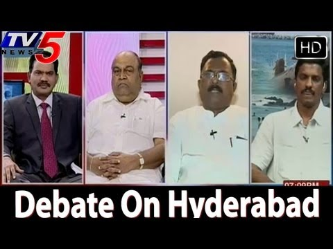 Hyderabad Capital Controversy Debate In Top Story - TV5