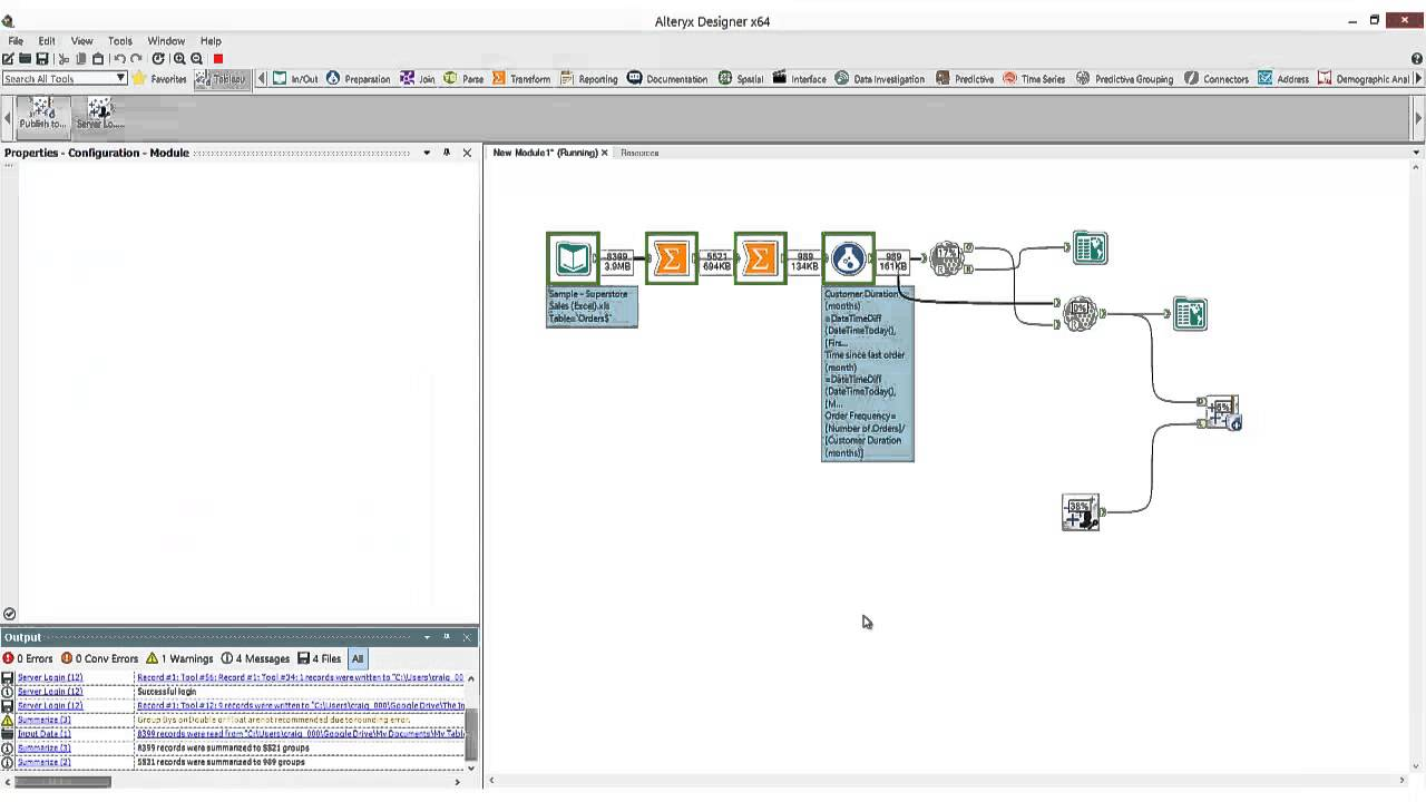 Publish to Tableau Server directly from Alteryx