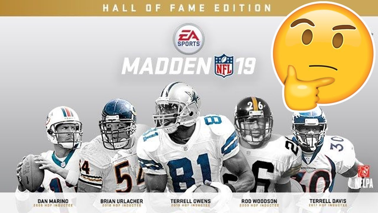 madden 19 limited edition legends