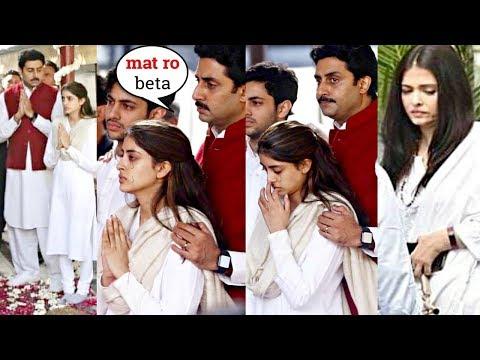 abhishekh-bachchan-consoles-crying-navya-naveli-nanda-at-dadi-ritu-nanda's-last-rite