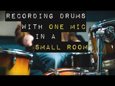 Recording Drums with 1 Mic in a Small Room