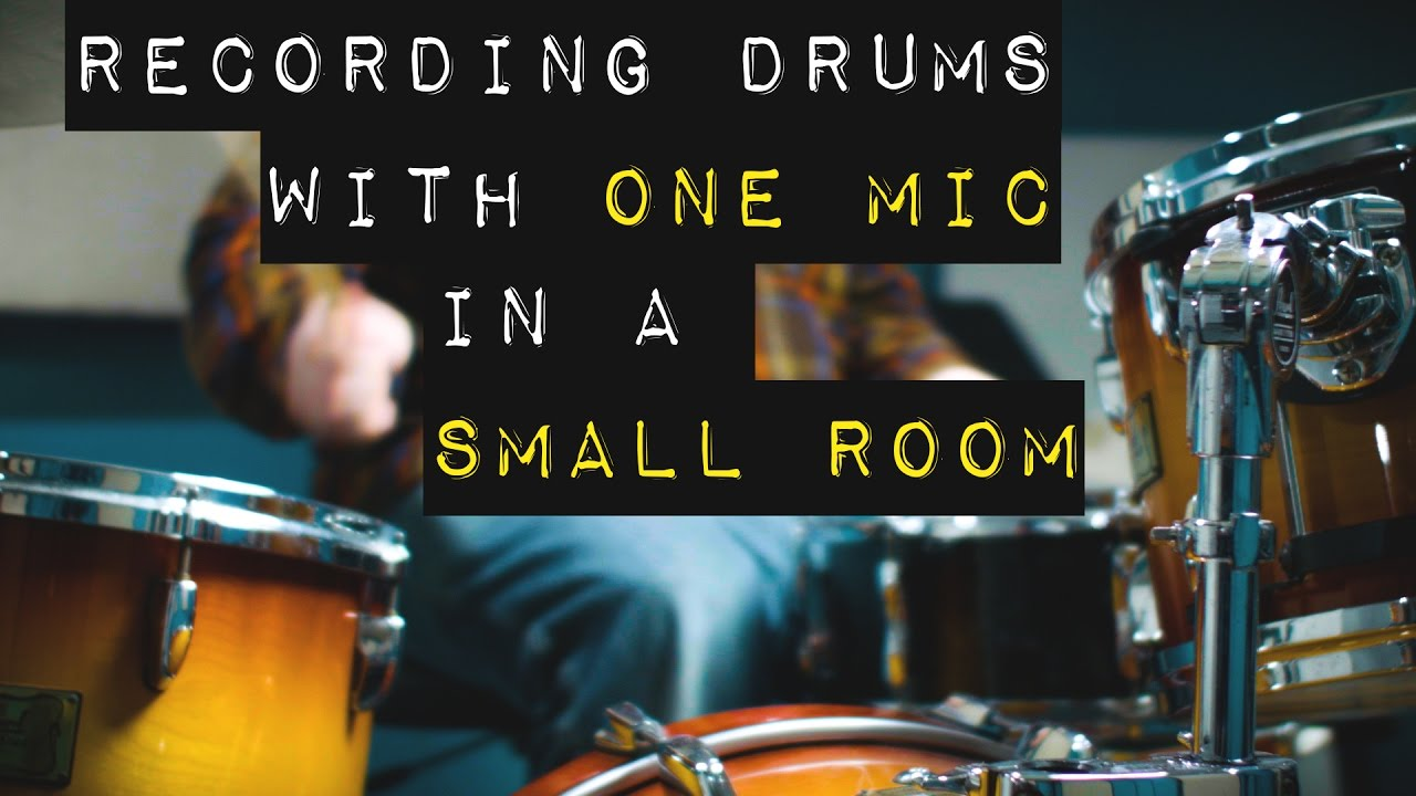 Mic Drums In Small Room