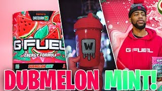 """DAEQUAN'S DUBMELON MINT G-FUEL"" - FIRST LOOK AND UNBOXING OF THE NEW DUBMELON MINT G-FUEL FLAVOR!"