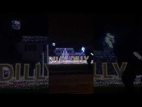 Dilly Dilly Holidays Light Show In Cranbury, New Jersey