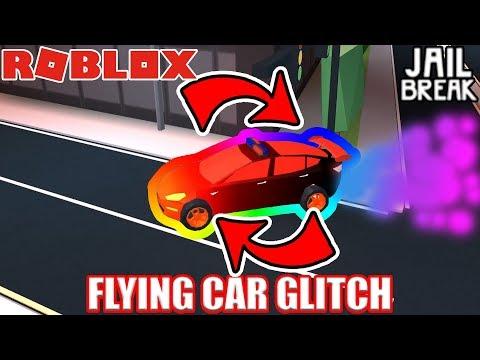 CRAZY FLYING CAR Glitch | Roblox Jailbreak