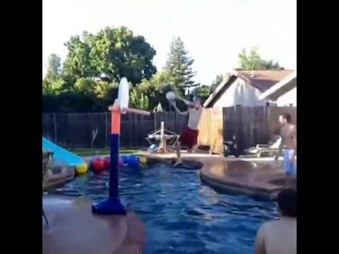 Awesome Video: 7 Dudes in a Pool + 1 Ball = 1 Uber-Alley Oop