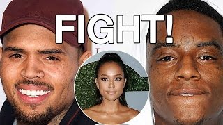 Chris Brown and Soulja Boy BEEF: Fight over Karrueche Tran on Social Media: Instagram Video