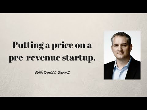 Valuing a pre-revenue startup - How to buy a business - How to Sell a Business