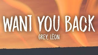 Baixar Grey - Want You Back (Lyrics) feat. LÉON
