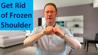 How To Get Rid Of Frozen Shoulder - Crazy Fast Shoulder Cure. Try EFT Now - Energy Healing