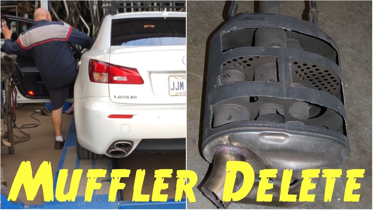 🚦Muffler Delete Exhaust on Lexus ISF 5 0L V8 Quick Experience at Custom  National Muffler Shop
