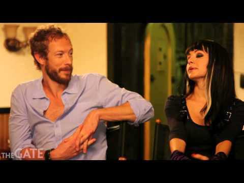 On set with the cast of 'Lost Girl' season 3: Part 3