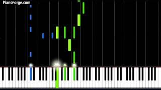 Bruno Mars Young Girls Piano Sheet Tutorial - pianoforge.com