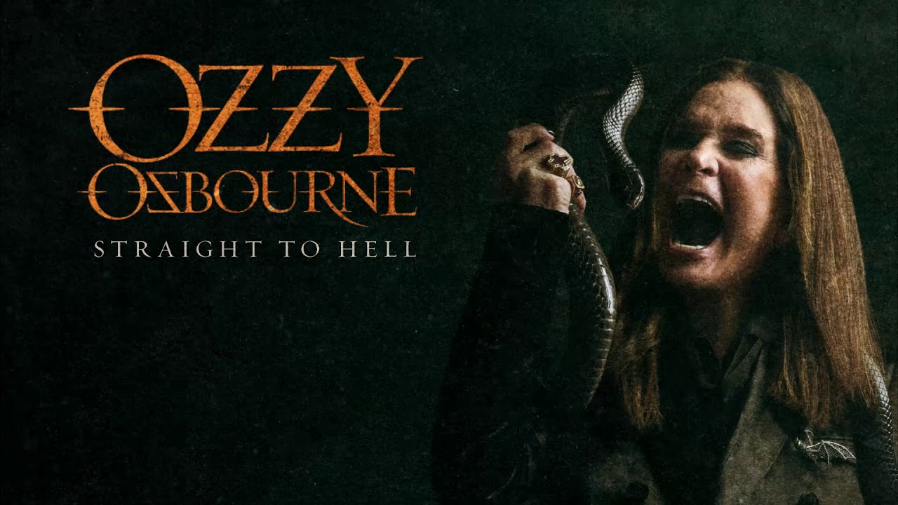 Ozzy Osbourne Straight To Hell Official Audio Youtube