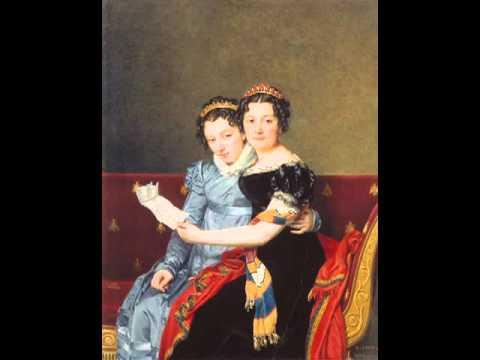 Charlotte Bonaparte Portrait of the Sisters Znade and Charlotte Bonaparte