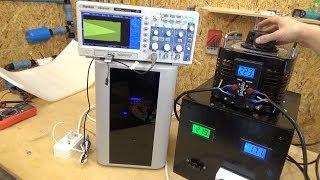 Обзор Энергия Hybrid 5000. Гибридный стабилизатор напряжения