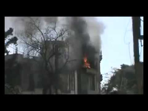 Assad Punks Kofi Annan pt8  10 April 12 Homs