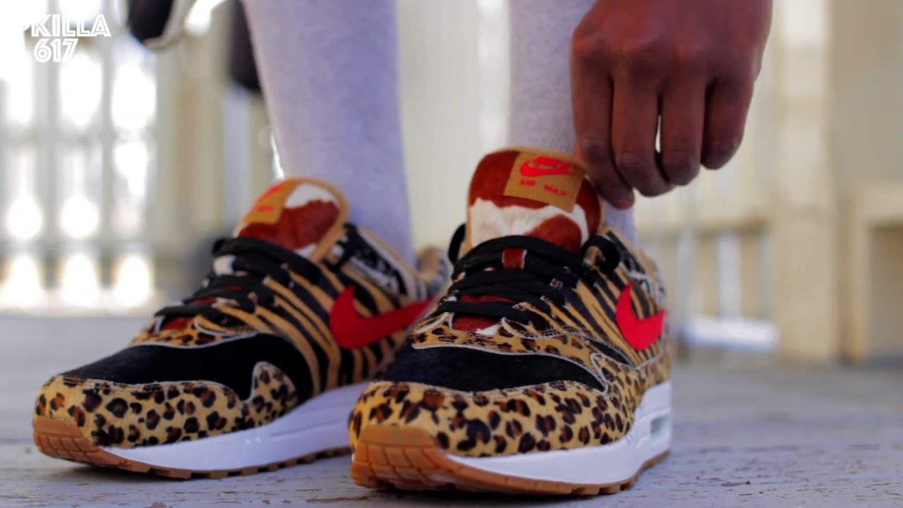 Air Max 1 DLX Atmos Animal Pack 2.0 ON FEET