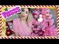 Set Up My PINK CHRISTMAS TREE w/ Me. YAAAS
