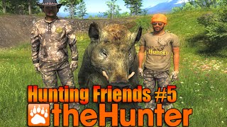 theHunter 2015 Hunting Friends #5 Feral Hogs with DatMan Leeroy