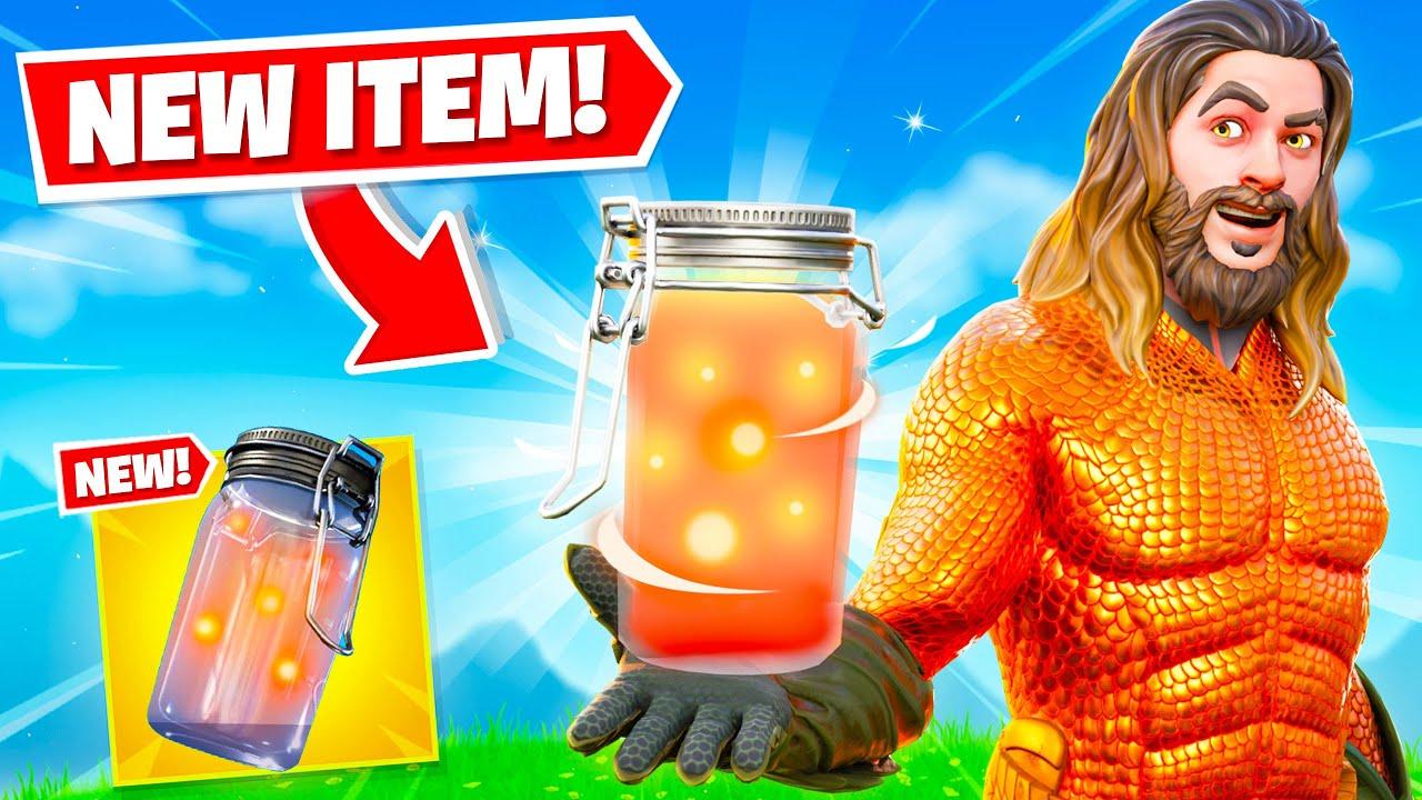 *NEW* FIREFLY JAR is WEIRD in Fortnite! (SECRET UPDATE)