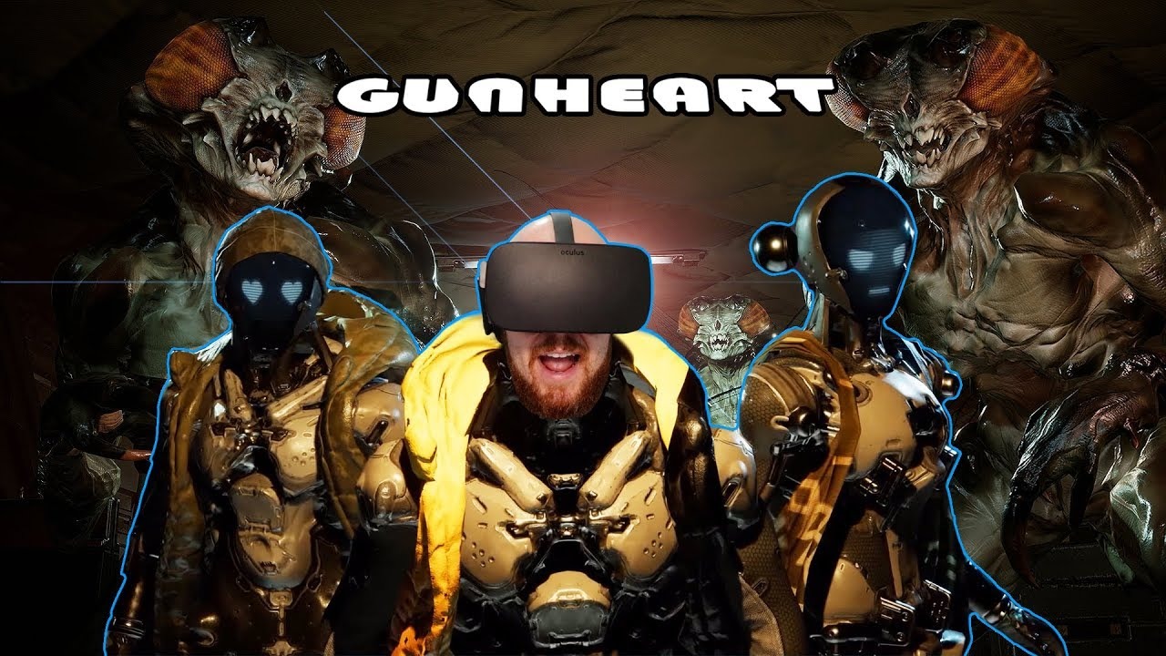 AWESOME VR CO-OP SHOOTER!! Gunheart Oculus Rift & Oculus Touch Gameplay - Virtual Reality