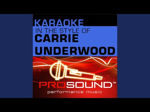 Jesus, Take the Wheel (Karaoke With Background Vocals) (In the style of Carrie Underwood)
