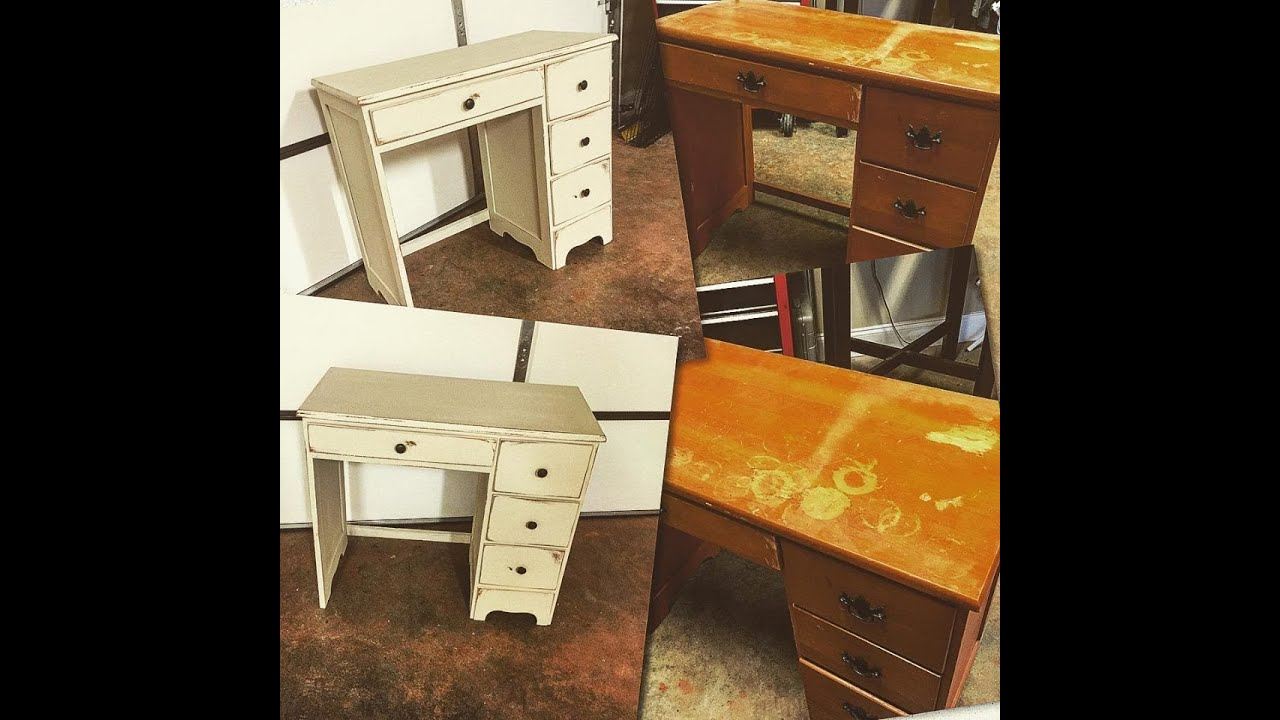 Diy Chalk Paint Furniture No Sanding Or Priming Using Dixie Bell Paint Youtube