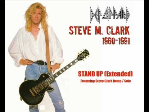 Def Leppard - Stand Up (Extended - Featuring Steve Clark Demo / Solo)