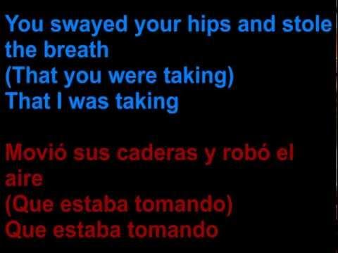 Andrew Belle feat. Katie Herzig - Static waves -  Letra en español y en inglés en la pantalla
