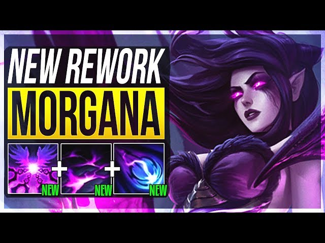 IS NEW REWORKED MORGANA BETTER THAN BEFORE??? - Morgana Rework Mid Gameplay - LoL