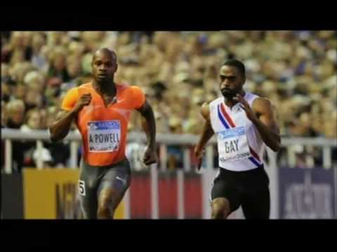 Asafa Powell and Tyson Gay sport firm suspends advertising contract - over tested positive