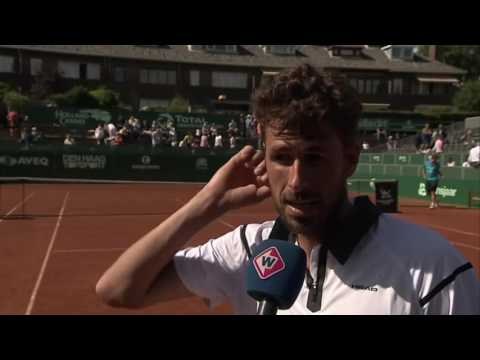 Interview Robin Haase na toernooizege The Hague Open