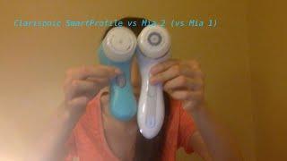Clarisonic SmartProfile VS Mia 2 VS Mia 1