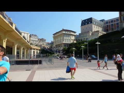 Biarritz Beach in front of Casino