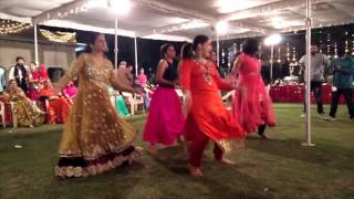 Brides Friends Perform At Her Sangeet | DJ Waale Babu | Ghani Bawari | Banno Tera Swagger