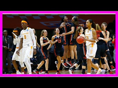 N.C.A.A. Women's Tournament: Oregon State Upsets Tennessee By J.News