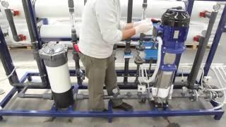 Призинтация оффиса и производственых мошьностей компании Esli Pollet water group .