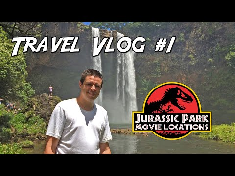 Travel vlog #1 - Helicopter ride to Jurassic Park